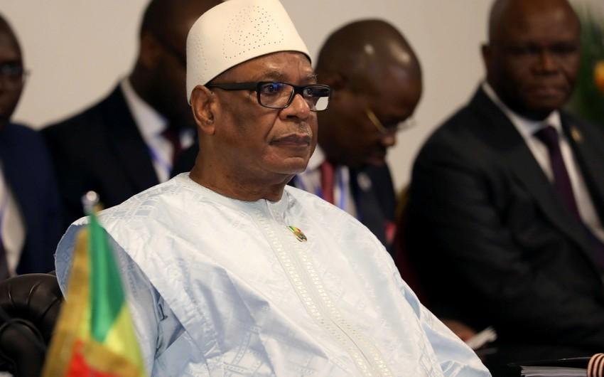 Rebel soldiers releases hostage Malian President