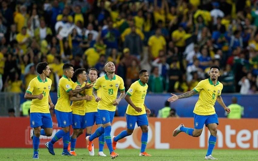 Braziliya Amerika Kubokunun finalında Peruya qalib gəlib
