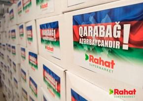 """""""Rahat"""" supermarketlər şəbəkəsi və Regional İnkişaf İB-nin Ordumuza birgə dəstəyi"""