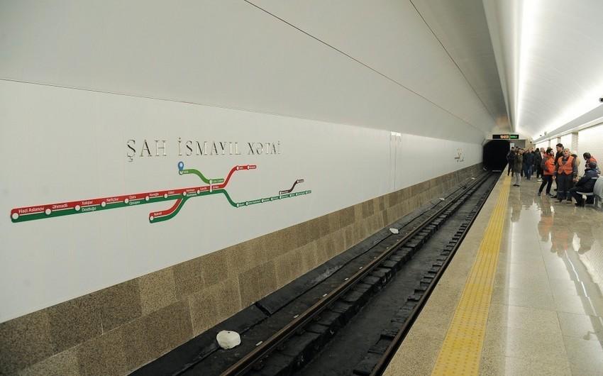 """Metronun """"Xətai"""" stansiyası avqust ayında sərnişinlərin istifadəsinə veriləcək"""