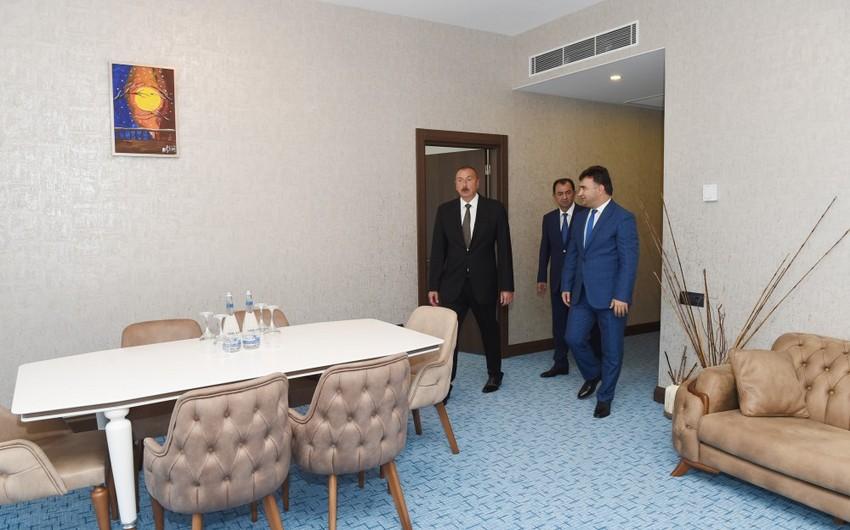 """Lənkəranda """"Xəzər Palace"""" otel kompleksi istifadəyə verilib"""