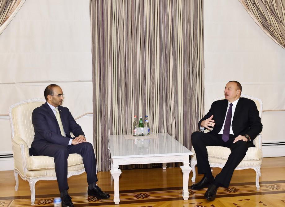 Президент Ильхам Алиев принял председателя Дубайской торговой палаты - ДОПОЛНЕНО