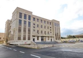 Bakıda polislərin yeni inzibati binaları istifadəyə verildi