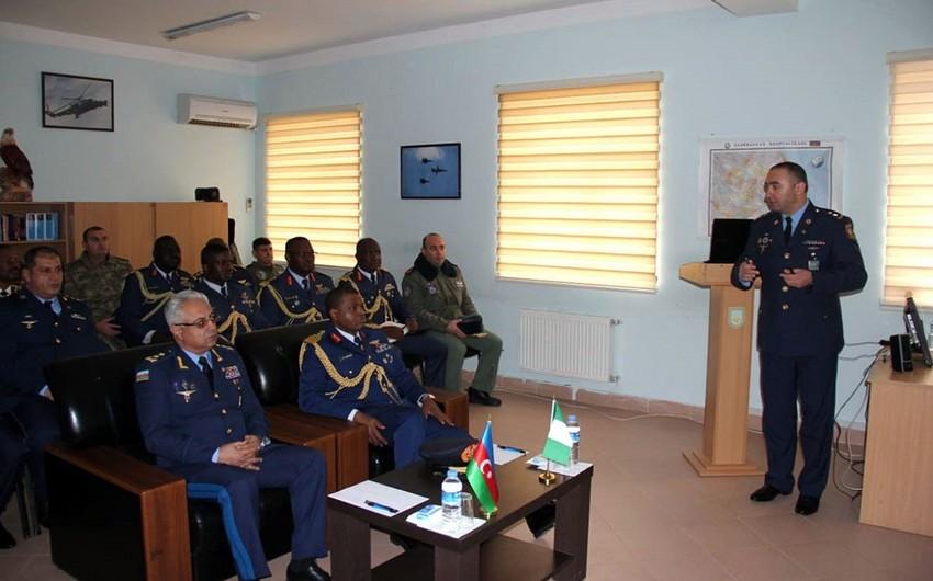 Nigeriyanın Hərbi Hava Qüvvələrinin komandanı Azərbaycana gəlib