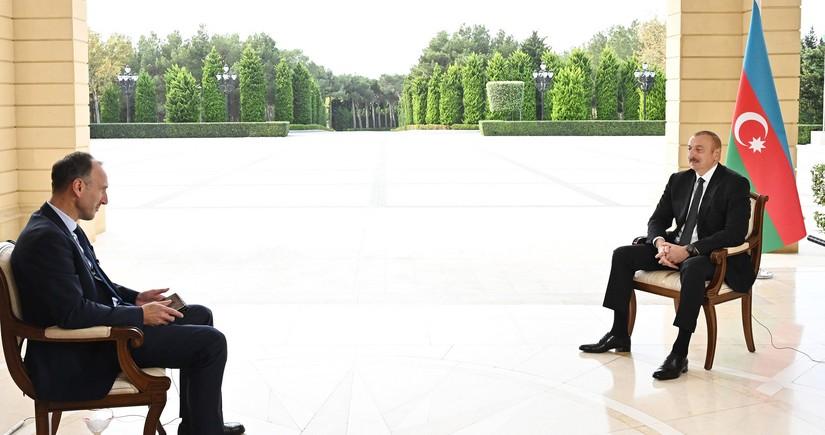 Prezident: Məhv etdiyimiz və qənimət kimi götürdüyümüz sursatın dəyəri 2,7 milyard dollardır