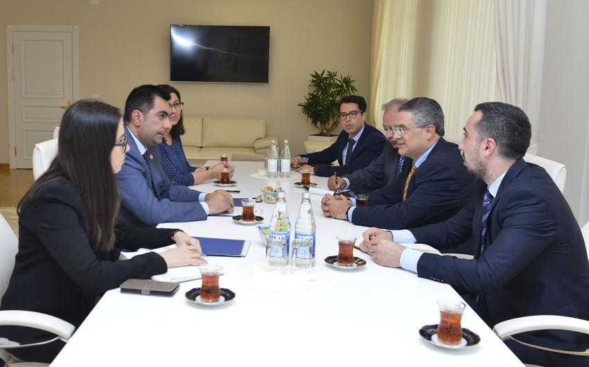 Elmar Qasımov Meksika Neft İnstitutunun baş direktoru ilə görüşüb