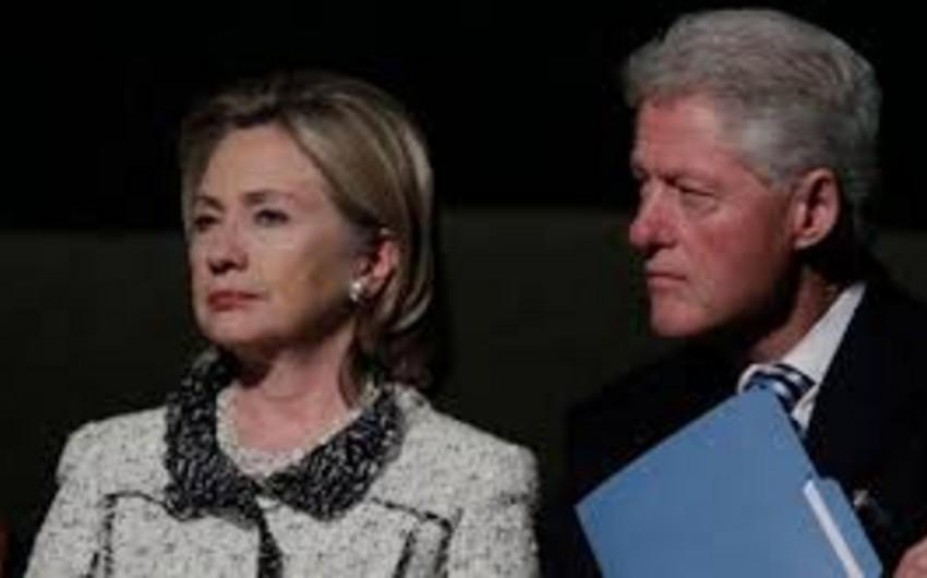 Klinton ailəsi 2014-cü ildən bəri azı 30 milyon dollar qazanıb