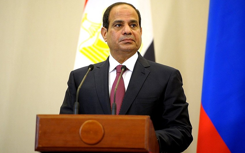 Abdel Fattah Al Sisi : We work to elevate ties with Azerbaijan to level of good political relationship