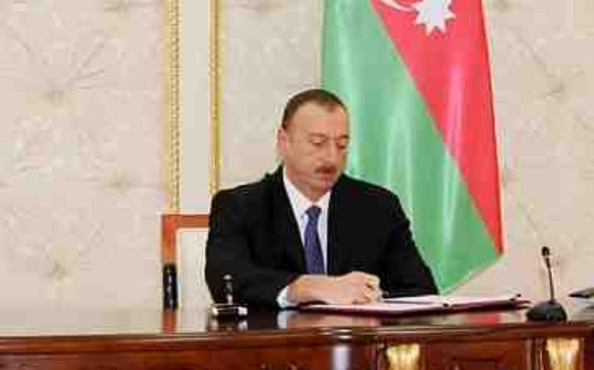 Prezident İlham Əliyev 2015-ci il dövlət büdcəsi haqqında qanunu təsdiqləyib