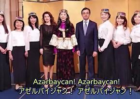 Yapon müğənni Azərbaycan olimpiyaçılarına dəstək istədi