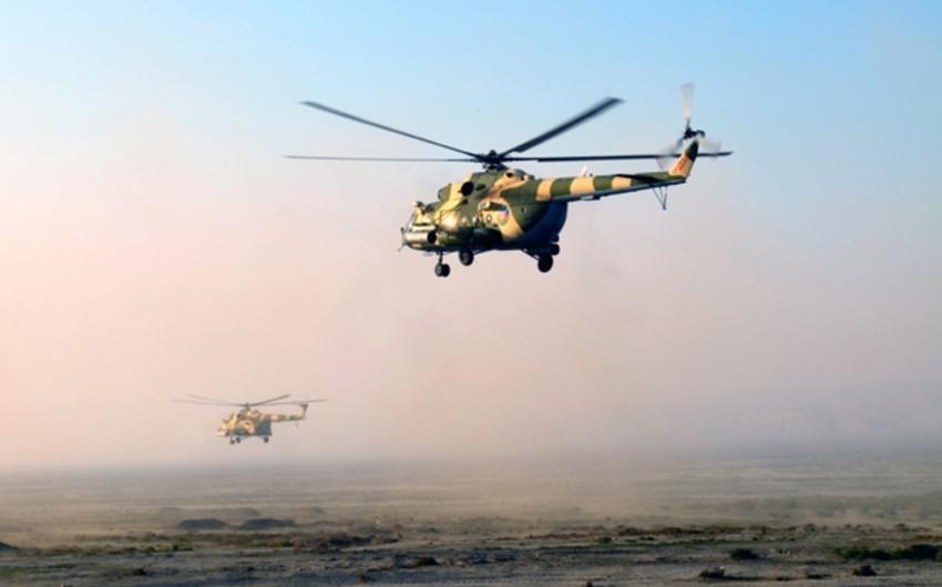 Azərbaycan Ordusunun irimiqyaslı təlimləri davam edir