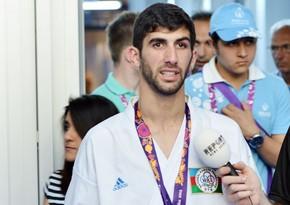 Avropa Oyunlarının gümüş medalçısı: Rəqib bu dəfə məndən ağıllı oldu