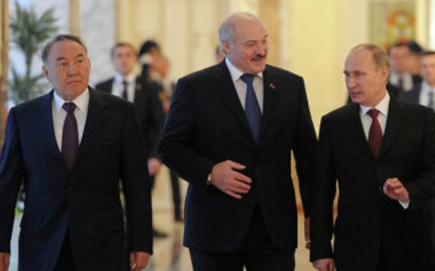 Putin on a visit to Kazakhstan