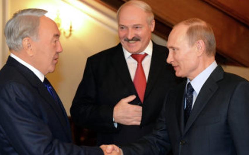 Qazaxıstan, Rusiya və Belarus prezidentlərinin görüş tarixi açıqlanıb