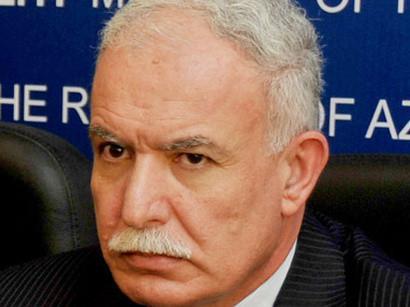 Глава МИД Палестины посетит Азербайджан