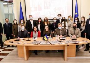 В Киеве состоялся круглый стол, посвящённый азербайджанскому мультикультурализму