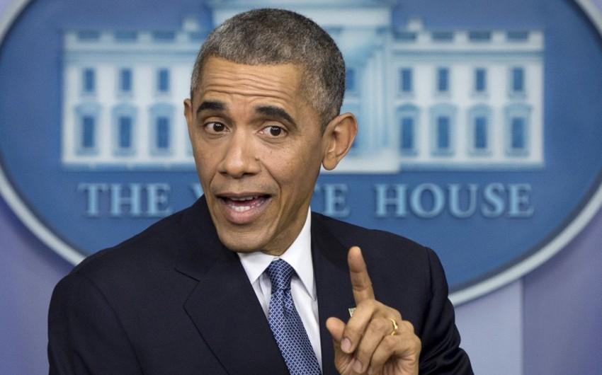Barak Obama:Putin məni məğlub edənə oxşamır