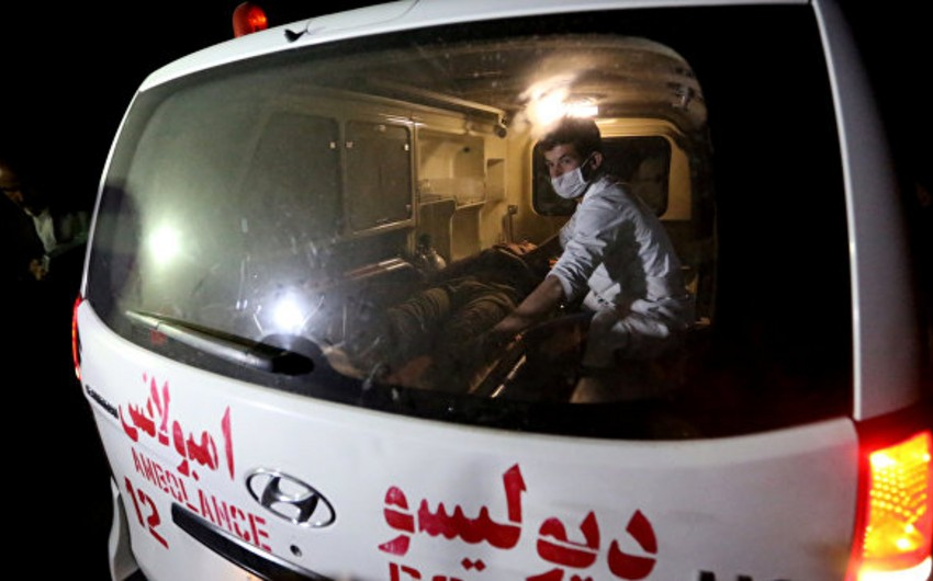 Əfqanıstanda yanacaq daşıyan maşın ilə avtobus toqquşub, 50 nəfər ölüb