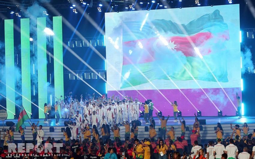 Bakı-2019: Avropa Gənclər Yay Olimpiya Festivalı rəsmən açıq elan olunub - FOTOREPORTAJ