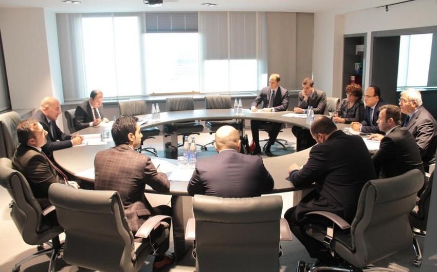 Azərbaycan Mərkəzi Bankının sədri Qara Dəniz Ticarət və İnkişaf Bankının prezidentini qəbul edib