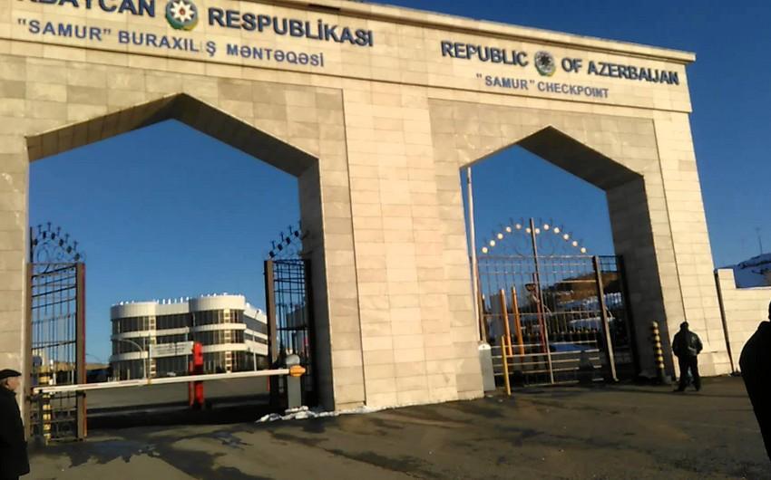 Пробки на таможенном посту Самур будут полностью устранены в ближайшие дни