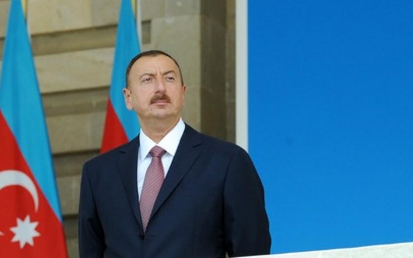 """Prezident İlham Əliyev """"Yasamal"""" parkının açılışında iştirak edib"""