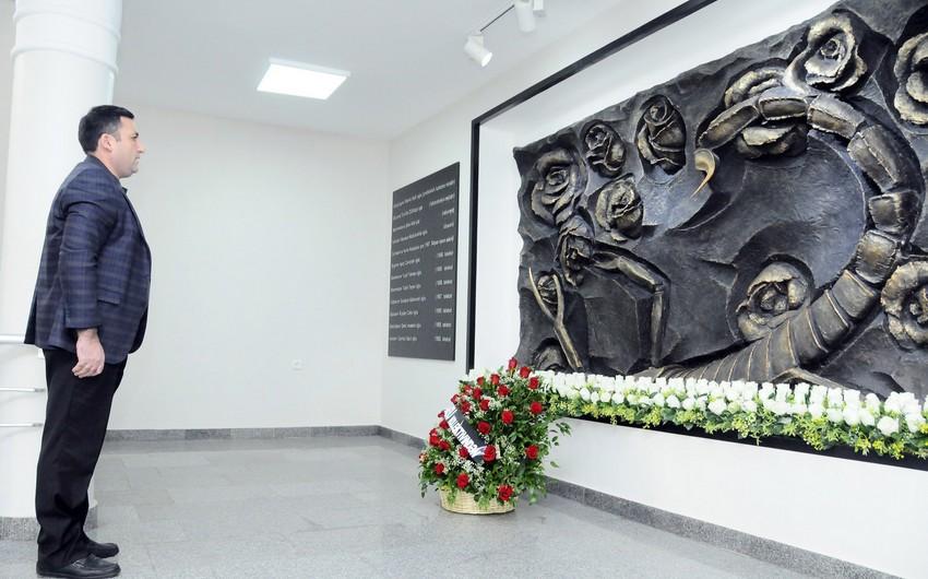 ADNSU-da 30 aprel terror qurbanlarının xatirəsi anılıb