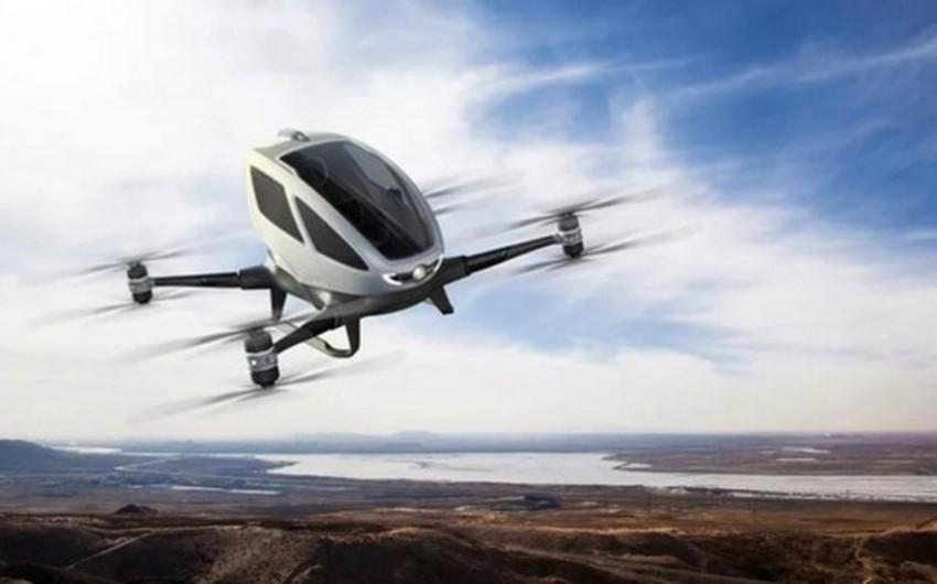 Çində dünyanın ilk pilotsuz sərnişin aparatı hazırlanıb - VİDEO