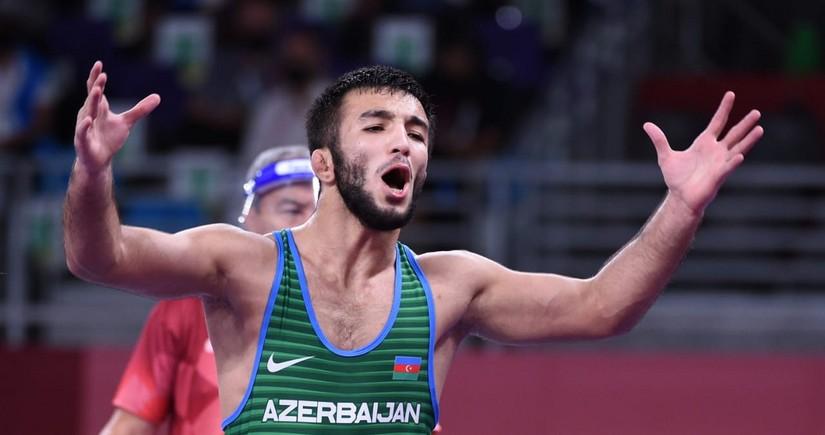 Tokio-2020: Azərbaycanın sərbəst güləşçisi medalsız qalıb