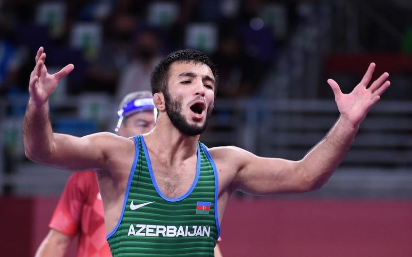 Tokio-2020: Azərbaycanın sərbəst güləşçisi çıxışını medalsız başa vurub