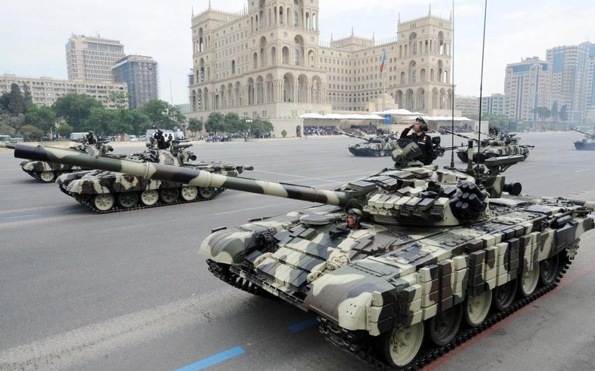Azərbaycan dünya ölkələrinin hərbi güc reytinqində mövqeyini gücləndirib