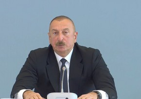 Ilham Aliyev: Armenian army is demolished, it doesn't exist