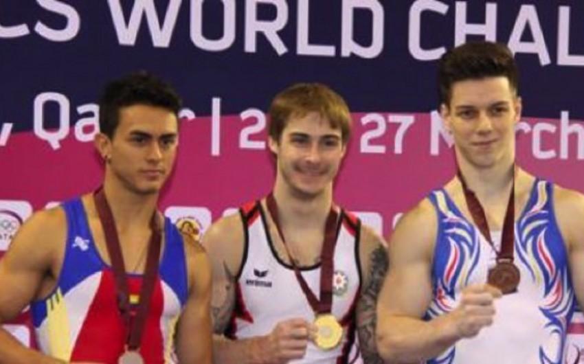 """Azərbaycan gimnastı """"World Challenge Cupda qızıl medal qazanıb"""