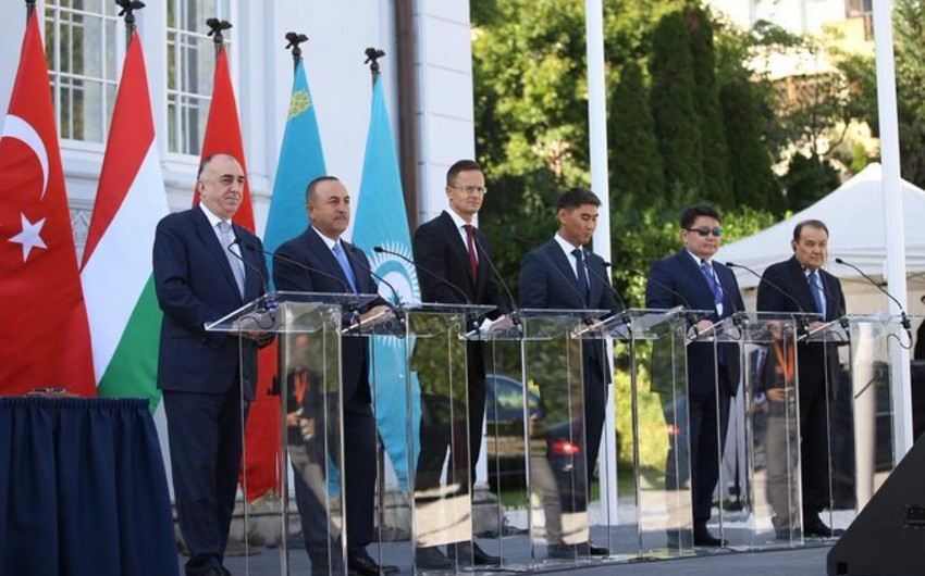 Azerbaijani Foreign Minister attends opening of Turkic Council Representation Office in Hungary