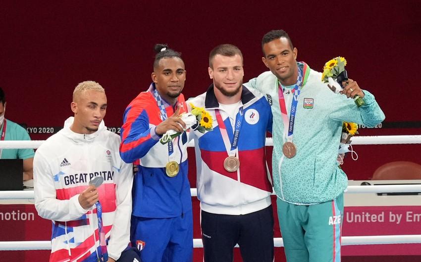 Tokio-2020: Azərbaycan boksçusu mükafatlandırılıb