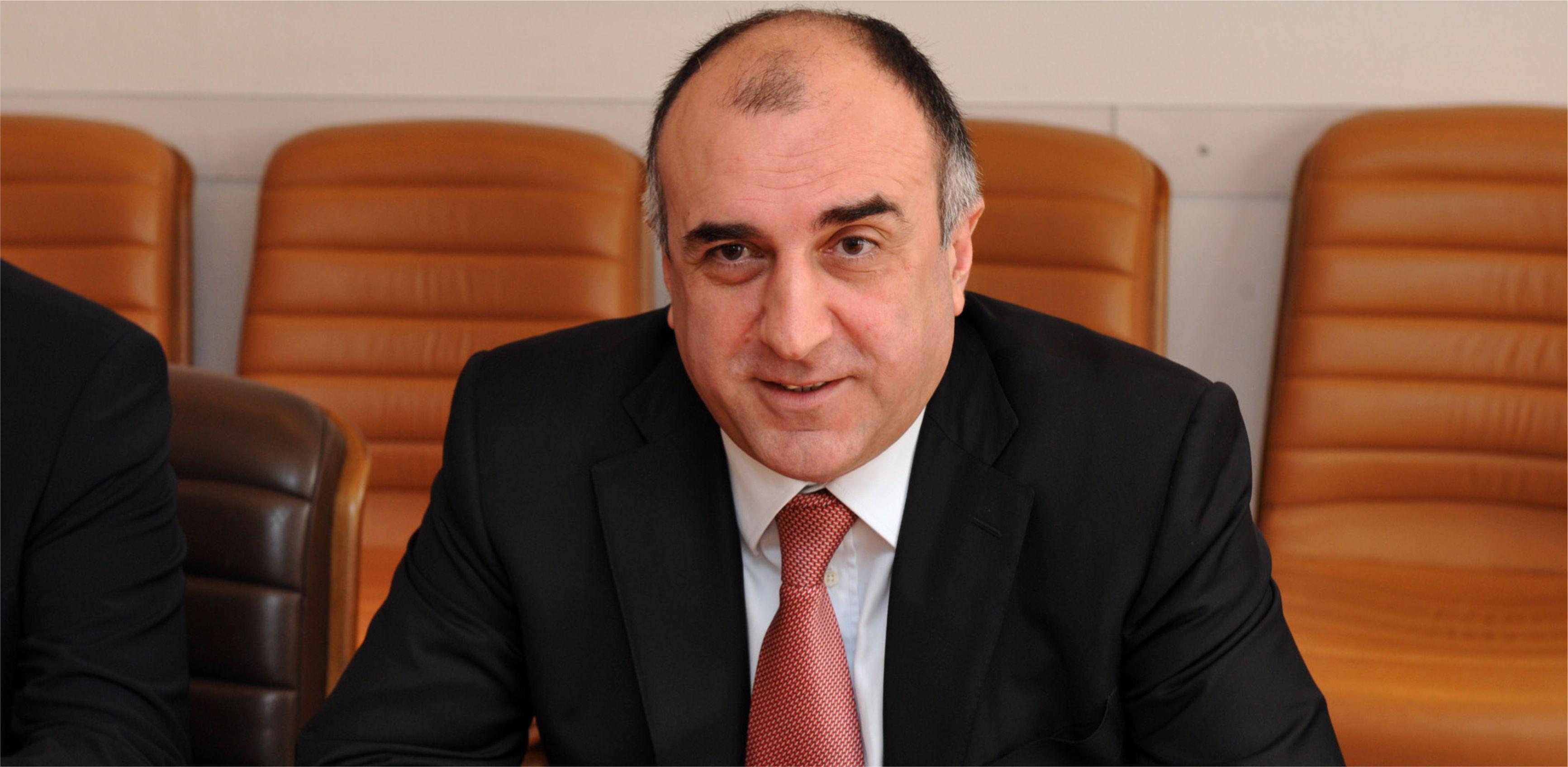 Azerbaijani FM Elmar Mammadyarov leaves for Luxembourg