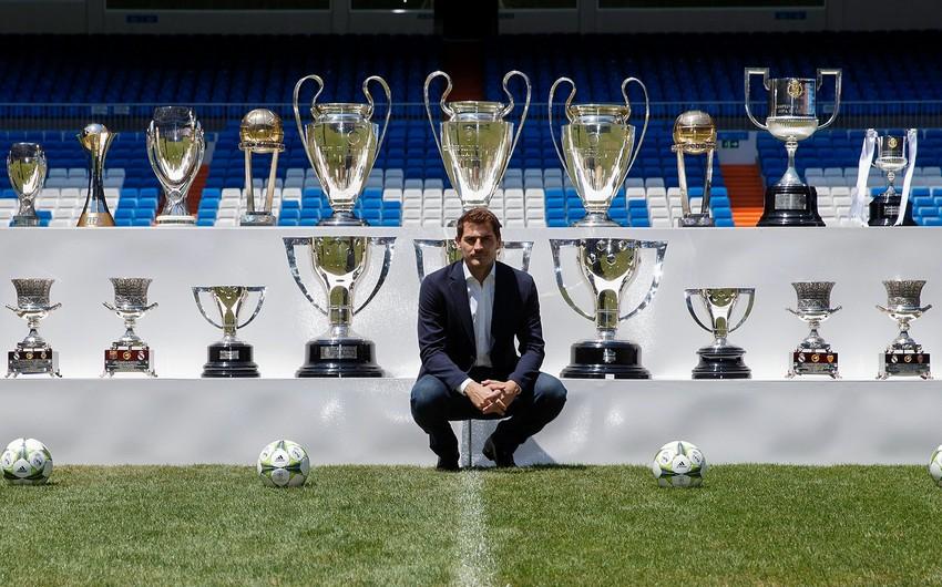 Kasilyas Real Madridəqayıtdı