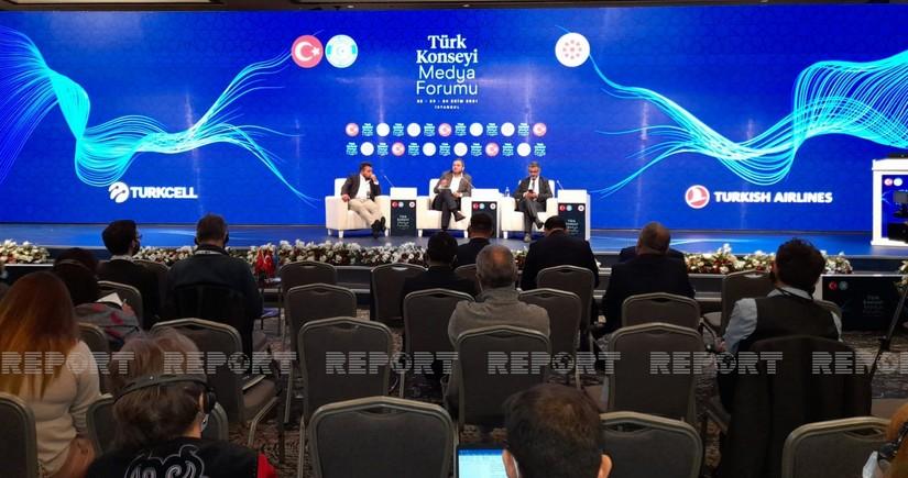 İstanbulda Türk dünyasında sosial media və dezinformasiya ilə mübarizə mövzusunda təlim keçirilib
