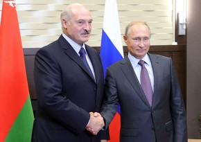 Переговоры Путина и Лукашенко планируются на 28 мая