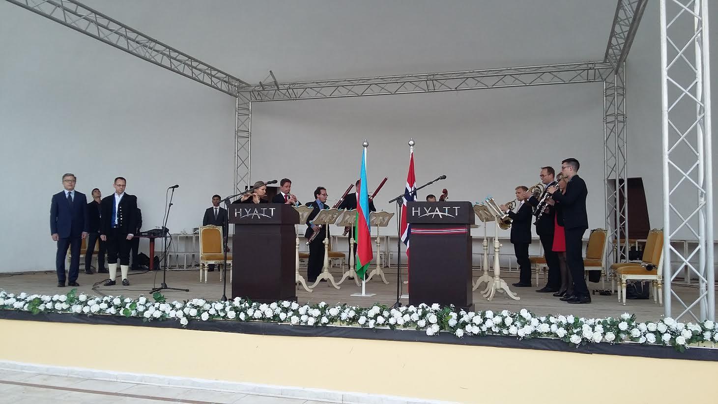 Норвегия поддерживает территориальную целостность Азербайджана - ФОТО