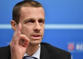 UEFA rəhbəri Konfrans Liqasının yaradılması səbəbini açıqladı
