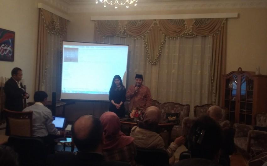 В Баку состоялась презентация туристических возможностей Индонезии