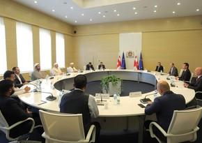 Gürcüstanın baş naziri müsəlman dini liderlərlə görüşüb