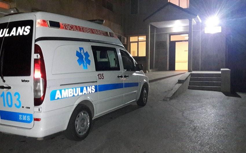 В Хазарском районе машина сбила пешехода