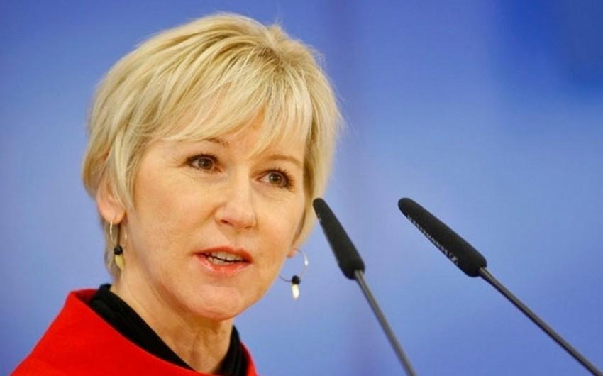 İsveç XİN-in başçısı: Şərq Tərəfdaşlığı proqramının davam etməsinə dəstək vermək niyyətindəyik