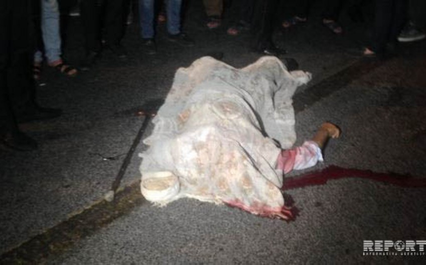 Ziya Bünyadov prospektində yaşlı kişini maşın vuraraq öldürüb - FOTO - VİDEO - YENİLƏNİB