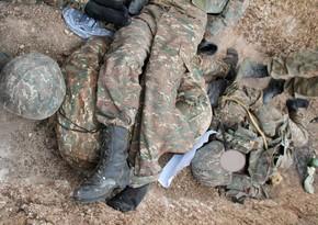 Ermənistan polisi müharibədə ağır itkilərə məruz qaldığını açıqladı