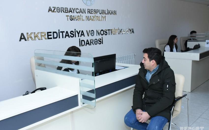 Təhsil Nazirliyinin Akkreditasiya və Nostrifikasiya İdarəsinə mediatur təşkil olunub