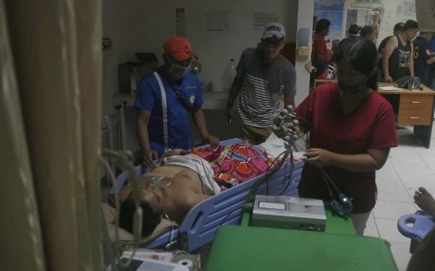 Filippində partlayış törədilib, ölən və yaralananlar var