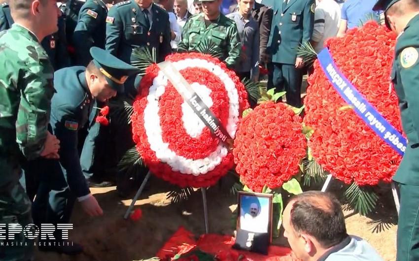 Погибший в результате провокации армян мирный житель предан земле в Масаллы